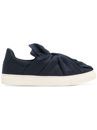 Ports 1961 knot front slip-on sneakers (blauw)
