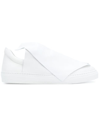 Ports 1961 foldover slip-on sneakers (wit)