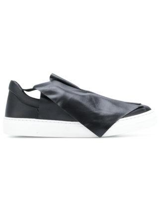 Ports 1961 foldover slip-on sneakers (zwart)