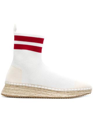 Alexander Wang Dylan sock sneakers (wit)