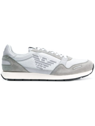 Emporio Armani classic logo sneakers (grijs)