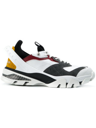 Calvin Klein 205W39nyc contrast panel runners (wit)