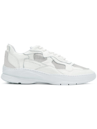 Filling Pieces colourblock low top sneakers - White