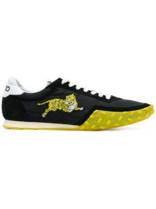 Kenzo embroidered tiger sneakers (zwart)