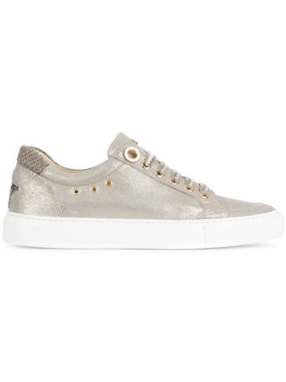 Lorena Antoniazzi star patch sneakers (zilver)