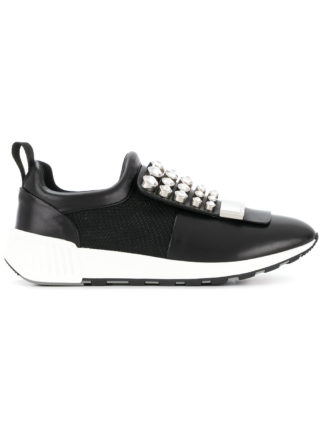 Sergio Rossi lace-up sneakers (zwart)