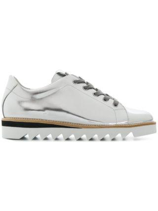 Hogl ridged sole sneakers (zilver)
