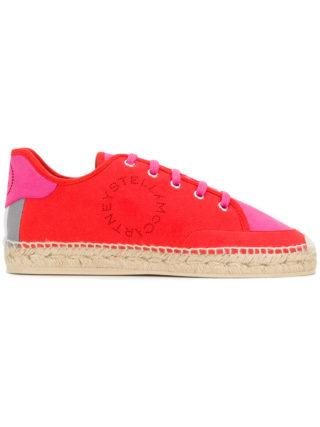 Stella McCartney espadrille sneakers (rood)