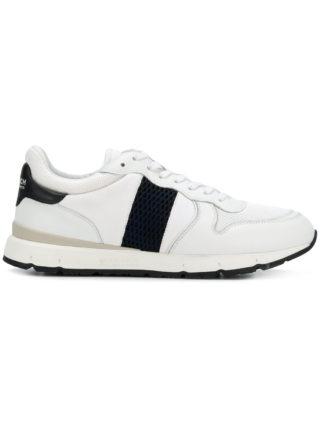 Woolrich contrast low-top sneakers (wit)