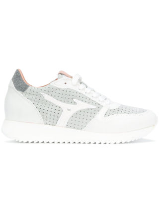 Mizuno lace-up sneakers (wit)