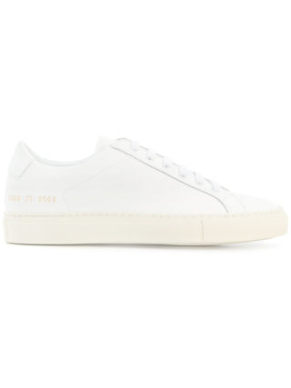 Common Projects casual lace-up sneakers (wit)
