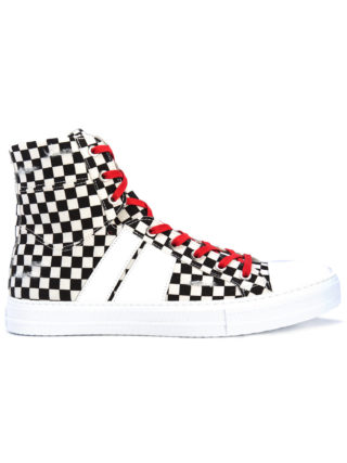 Amiri Sunset check sneakers (zwart)