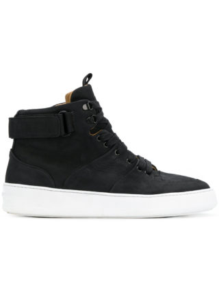 Mason Garments Roma classic high-top sneakers - Black