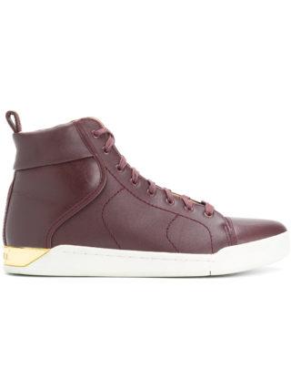 Diesel S-Marquise hi-top sneakers - Pink & Purple