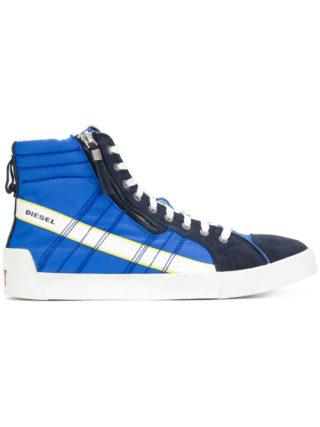 Diesel D-String Plus hi-top sneakers - Blue