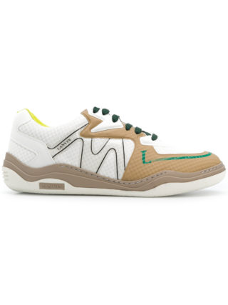Lanvin textured diving sneakers (wit)
