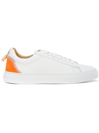 Buscemi contrast-panel lace-up sneakers (wit)