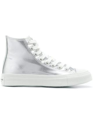 Junya Watanabe high top sneakers (zilver)