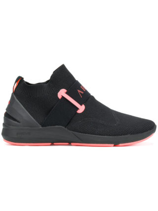 Arkk mid-top silp-on sneakers (zwart)