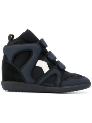 Isabel Marant Buckee wedge sneakers - Black