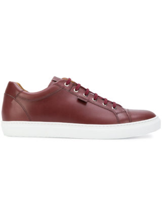 Brioni lace-up sneakers (rood)