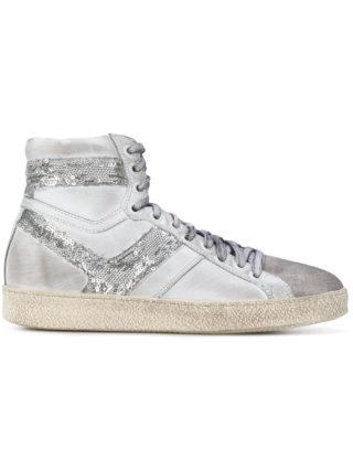 Iro sequin panel Barthyno sneakers (grijs)