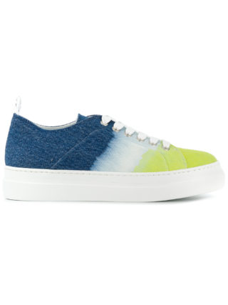 MSGM gradient low-top sneakers (multicolor)