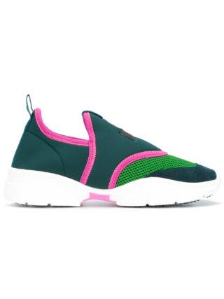Isabel Marant neoprene sneakers (groen)