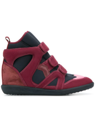 Isabel Marant Buckee wedge sneakers - Red
