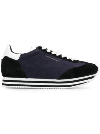 Rebecca Minkoff striped platform sneakers (blauw)