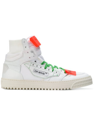 Off-White 3.0 hi-top sneakers (wit)
