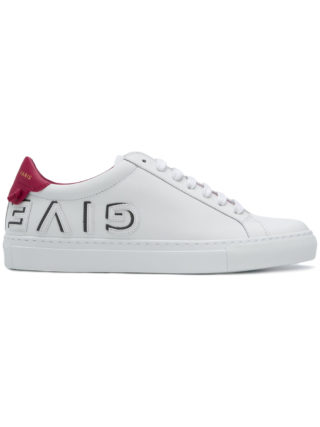 Givenchy logo low-top sneakers - White