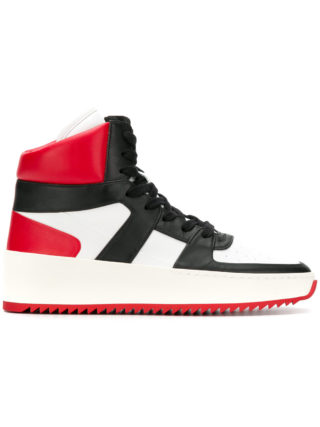 Fear Of God lace-up hi-top sneakers (wit)