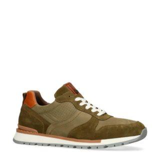 No Stress nubuck sneakers (groen)
