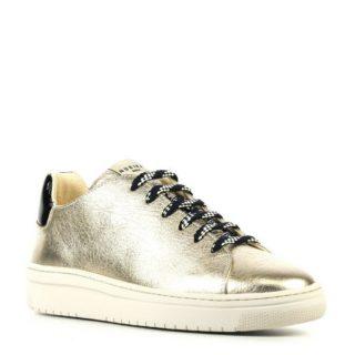 Nubikk metallic leren sneakers (goud)