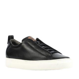 Paul Green leren sneakers (zwart)