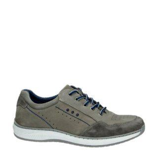 Nelson nubuck sneakers (grijs)