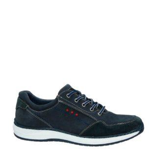 Nelson nubuck sneakers (blauw)