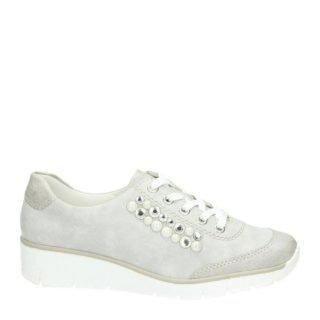 Rieker sneakers met parels (grijs)