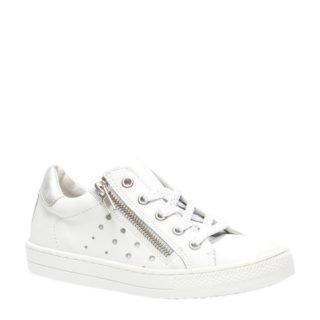 Groot leren sneakers meisjes (wit)