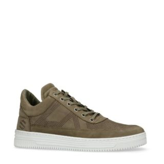 Sacha nubuck sneakers kaki (groen)