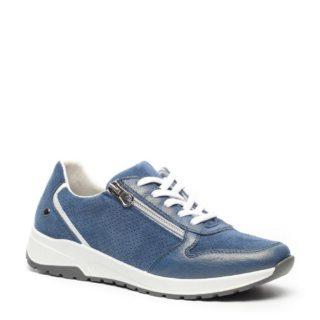 Hush Puppies leren sneakers (blauw)