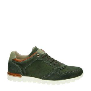 Nelson suède sneakers (groen)