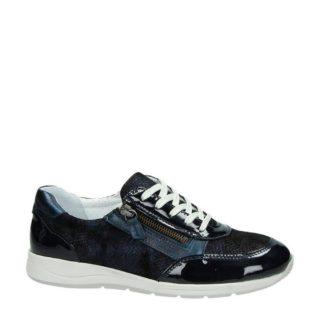 Nelson lakleren sneakers (blauw)