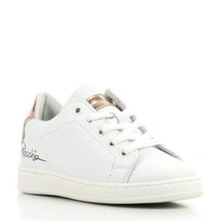 Pinocchio leren sneakers meisjes (wit)