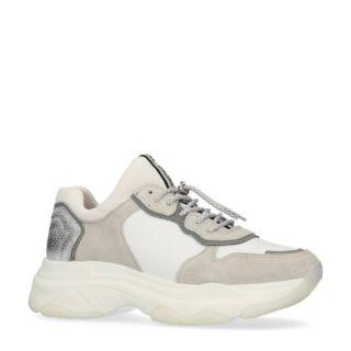 Bronx leren sneakers wit (wit)