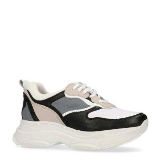 Sacha suède sneakers (zwart)