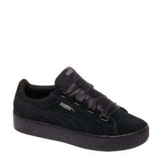 Plate-forme Puma Ruban Vikky Audacieux 365314-01, Les Femmes, Noir, Taille Des Chaussures De Sport: 42,5 Eu