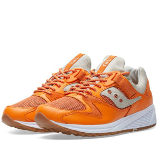 END. x Saucony Grid 8500 'Lobster' (Orange)