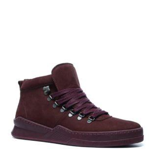 Sacha leren sneakers (rood)
